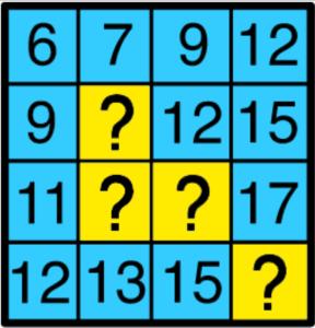 NEW2016年新作IQテスト-q10