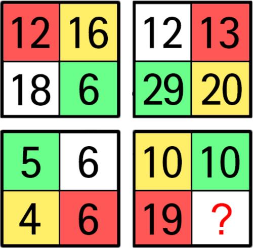 トライアングルIQテスト2018-Q12