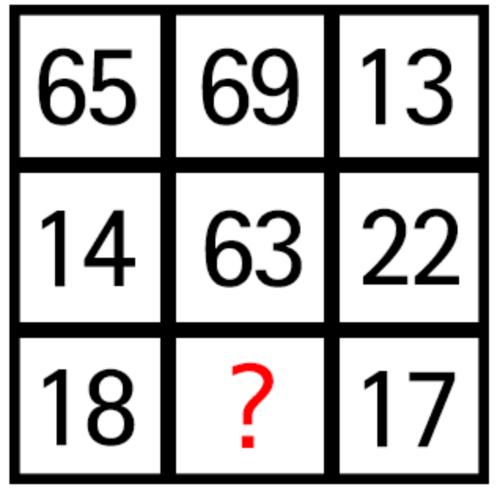 トライアングルIQテスト2018-Q5