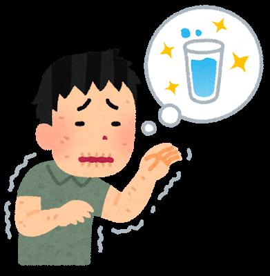 水分不足な人